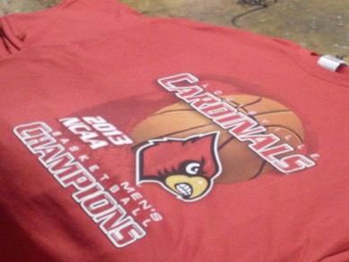 National champions college basketball 2013 time to make for Louisville t shirt printing